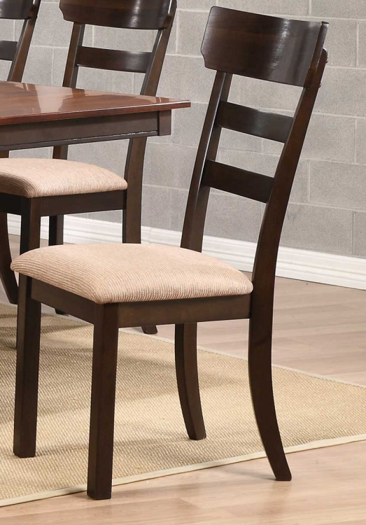 Greenbury Side Chair - Golden Brown/Coffee