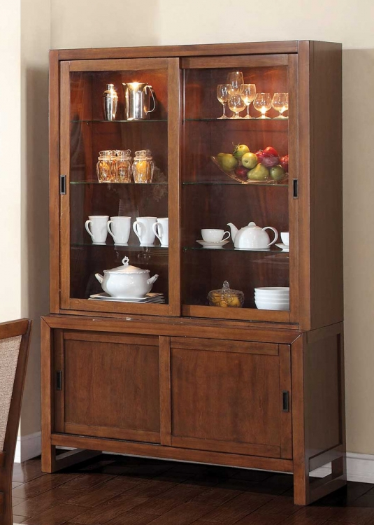 Camila Buffet/Hutch - Walnut