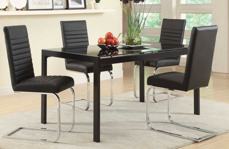 Jenson Dining Set - Black