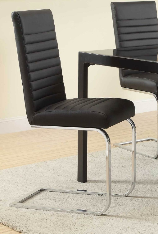 Jenson Side Chair - Black