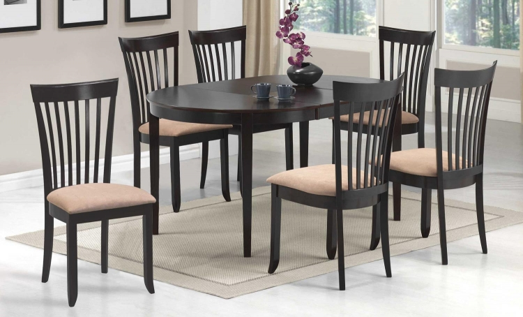 Nathan Dining Set - Cappuccino