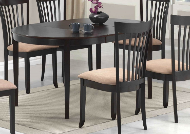 Nathan Dining Table - Cappuccino