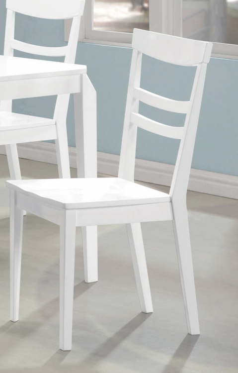 Henson Side Chair - White