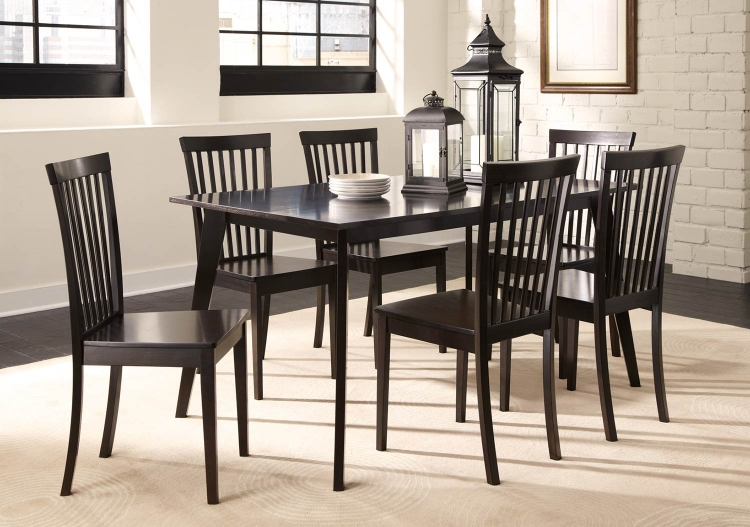 Ludwin Dining Set - Cappuccino