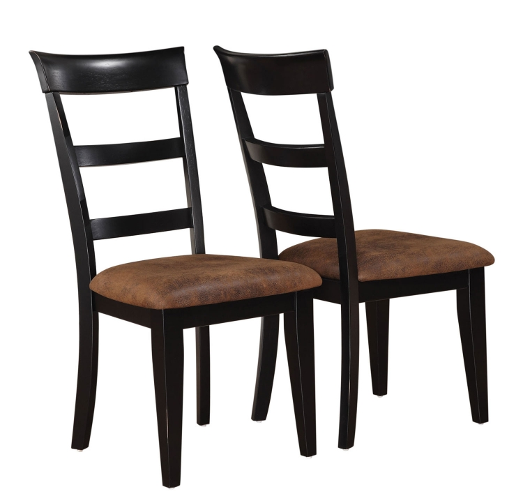 Charlotte Side Chair - Oak/Black