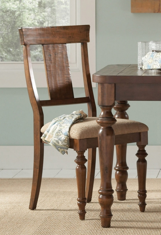 Jonas Side Chair - Rustic Brown