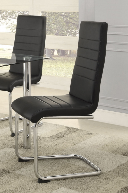 Evanston Side Chair - Polished Chrome