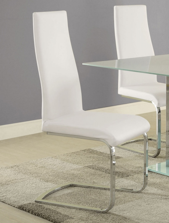 Geneva Side Chair - White