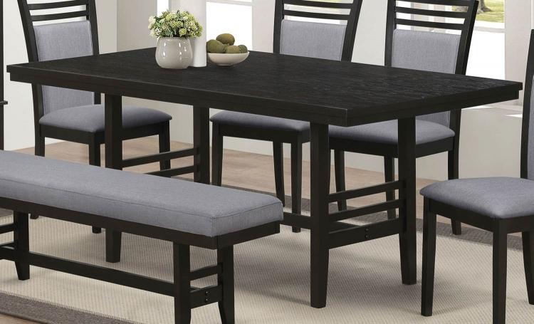 La Salle Dining Table - Dark Merlot