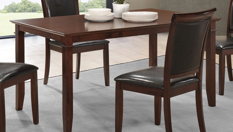 Benton Dining Table - Dark Cherry
