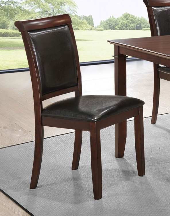 Benton Side Chair - Dark Cherry