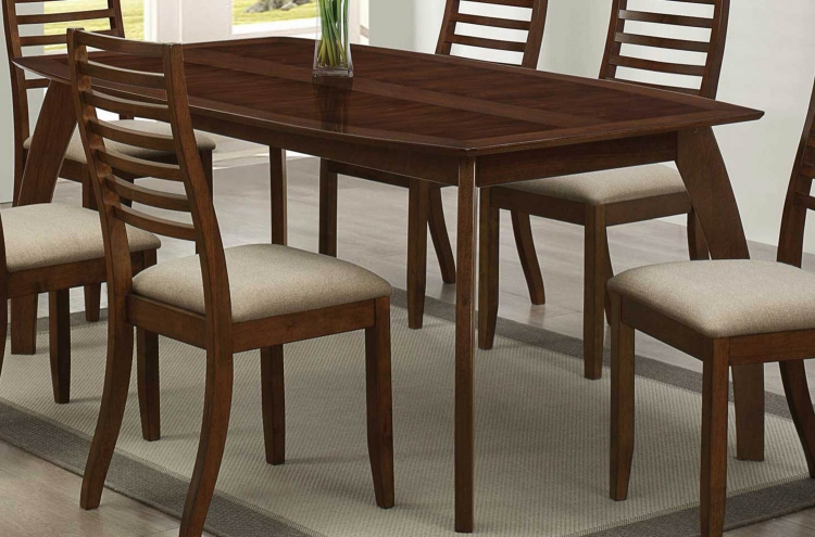 Stanley Dining Table - Cappuccino