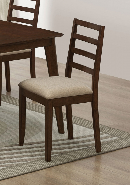 Mulligan Side Chair - Medium Brown