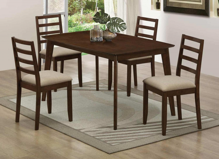 Mulligan Dining Collection - Medium Brown