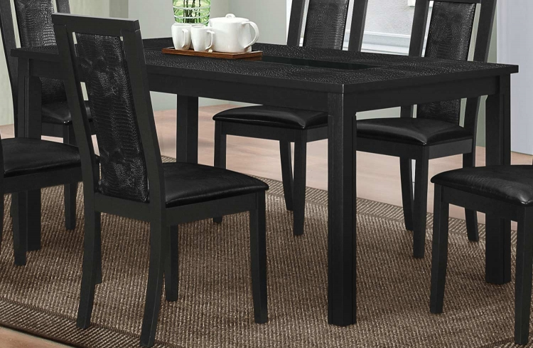 Plano Dining Table - Black