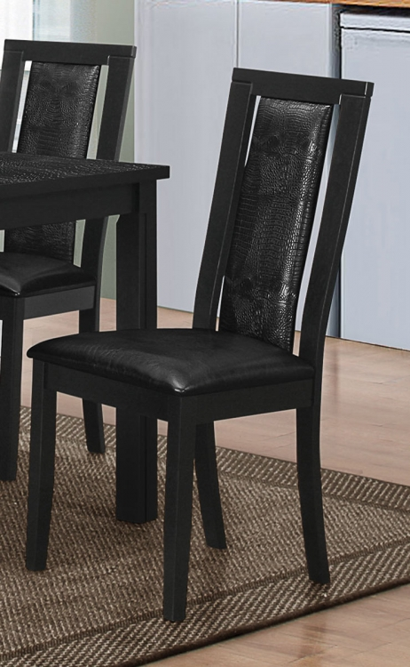 Plano Side Chair - Black
