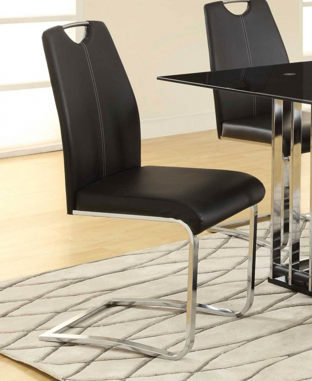 Ethan 105302 Side Chair - Chrome