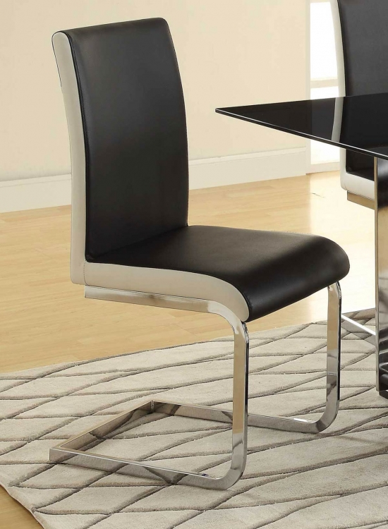 Ethan 105303 Side Chair - Chrome