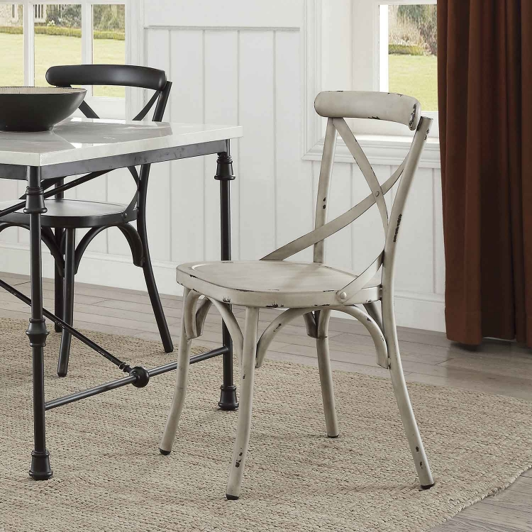 Nagel Dining Side Chair - White