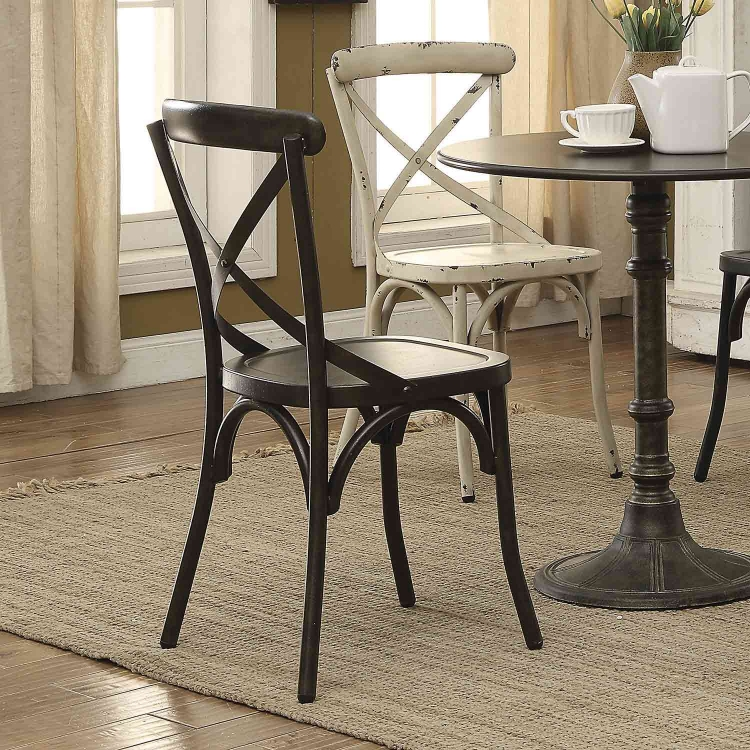 Nagel Dining Side Chair - Antique Brown