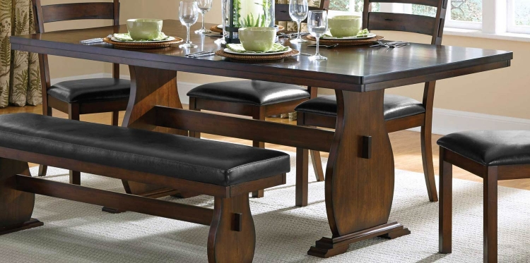 Campbell Dining Table - Vintage Cinnamon