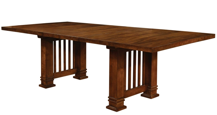 Beaumont Dining Table - Golden Brown