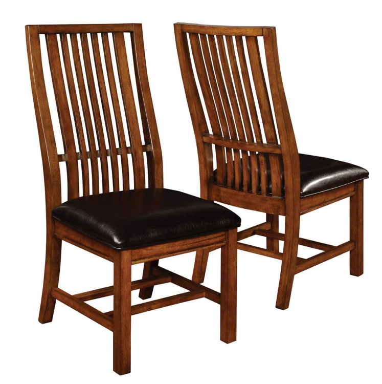 Beaumont Side Chair - Golden Brown