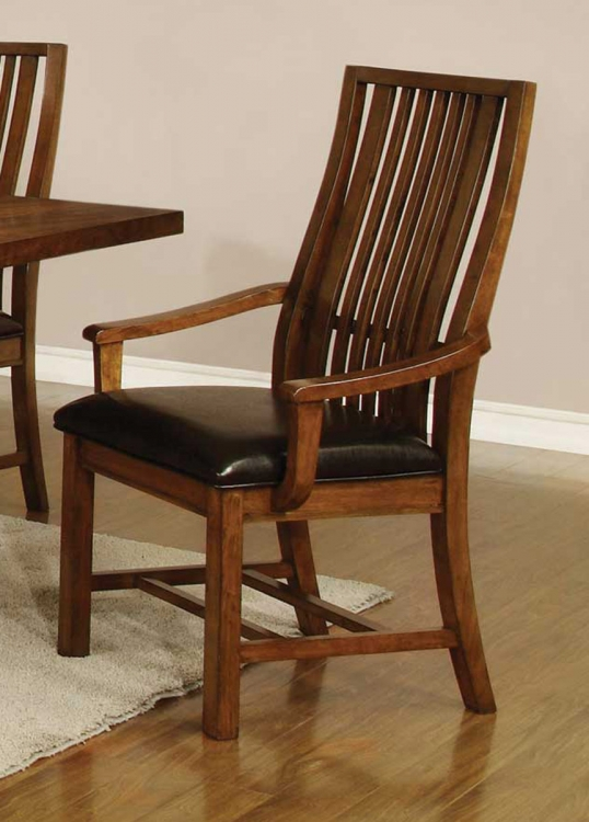 Beaumont Arm Chair - Golden Brown