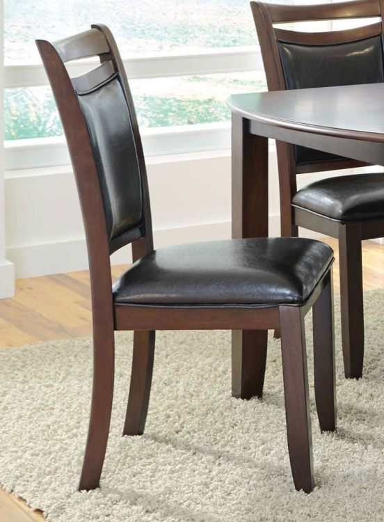 Dupree Side Chair - Dark brown