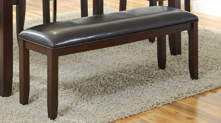 Dupree Bench - Dark brown