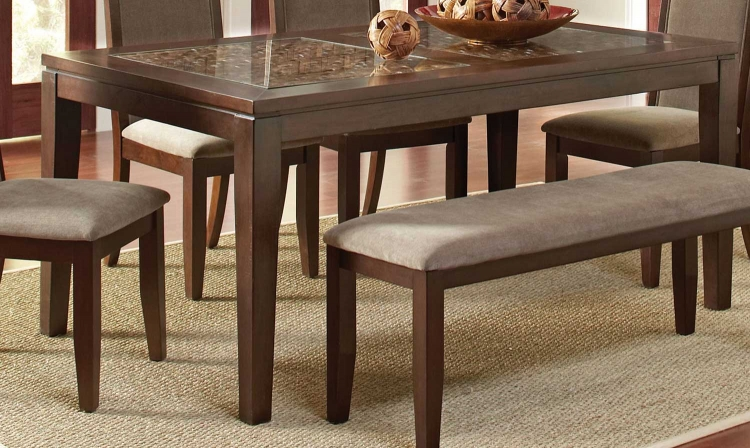 Trinidad Dining Table - Medium Brown
