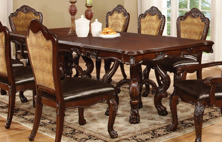 Benbrook Dining Table - Dark Cherry