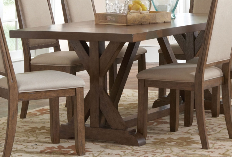 Bridgeport Dining Table - Weathered Acacia