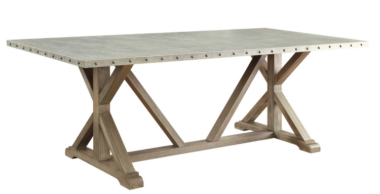 Webber Dining Table - Driftwood