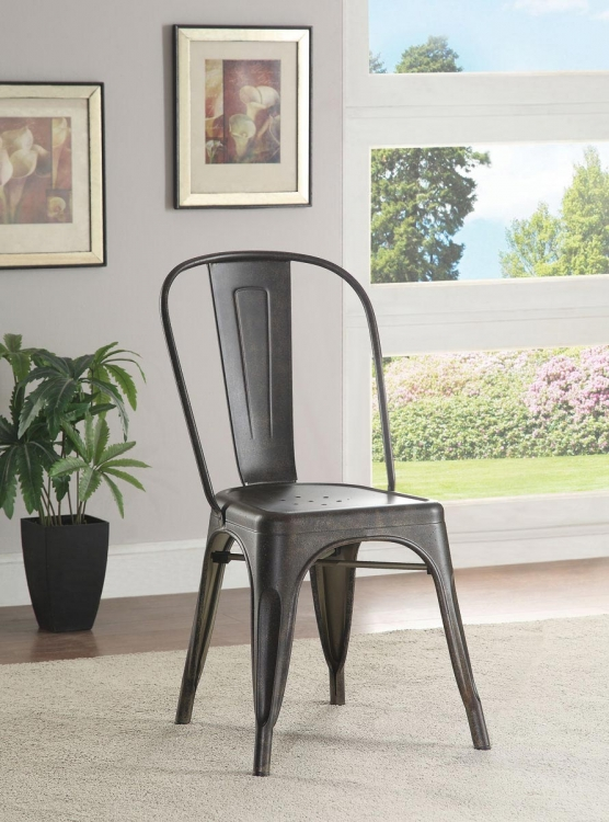Bellevue Metal Chair - Bronze