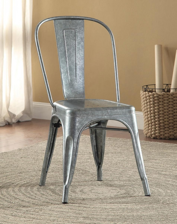 Bellevue Metal Chair - Galvanize