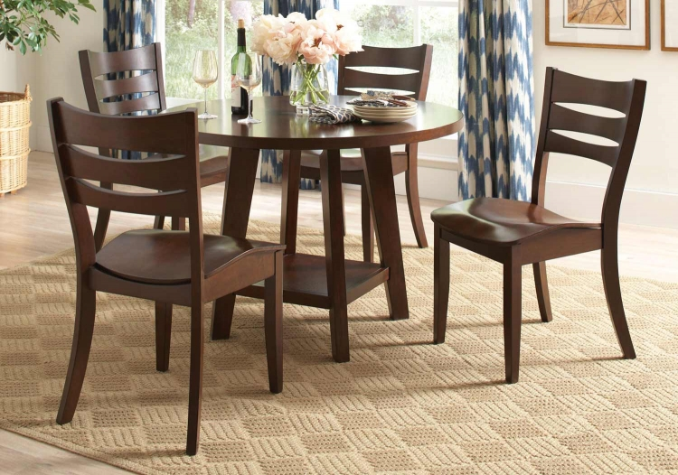 Byron Dining Collection - Dark Brown