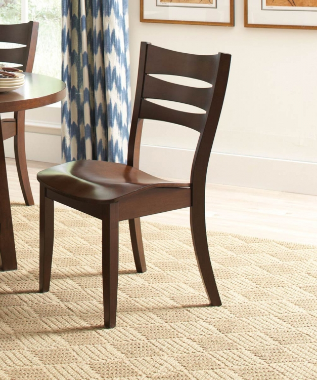 Byron Side Chair - Dark Brown