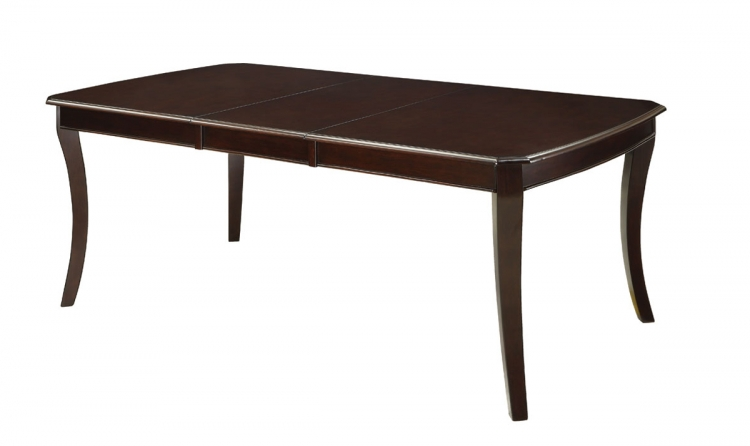 Crest Hill Dining Table - Cherry Brown