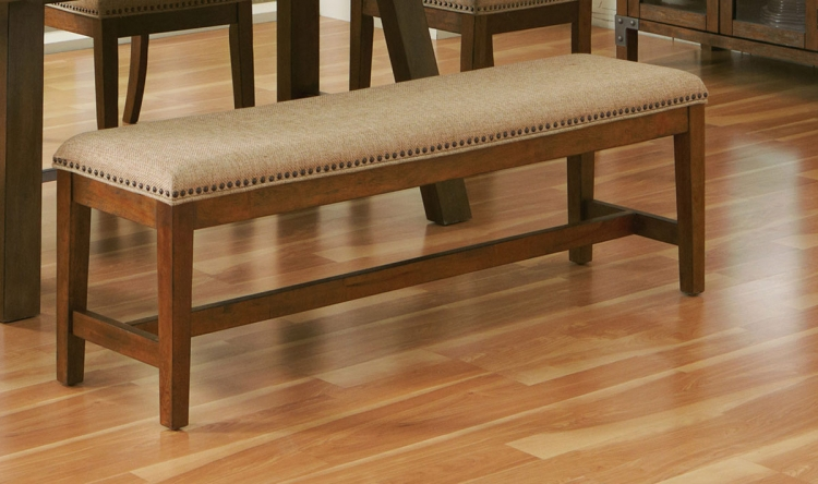 Arcadia Dining Bench - Weathered Acacia