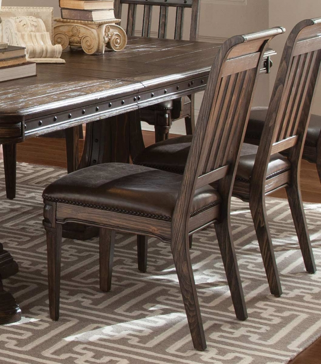 Carlsbad Side Chair - Dark Brown