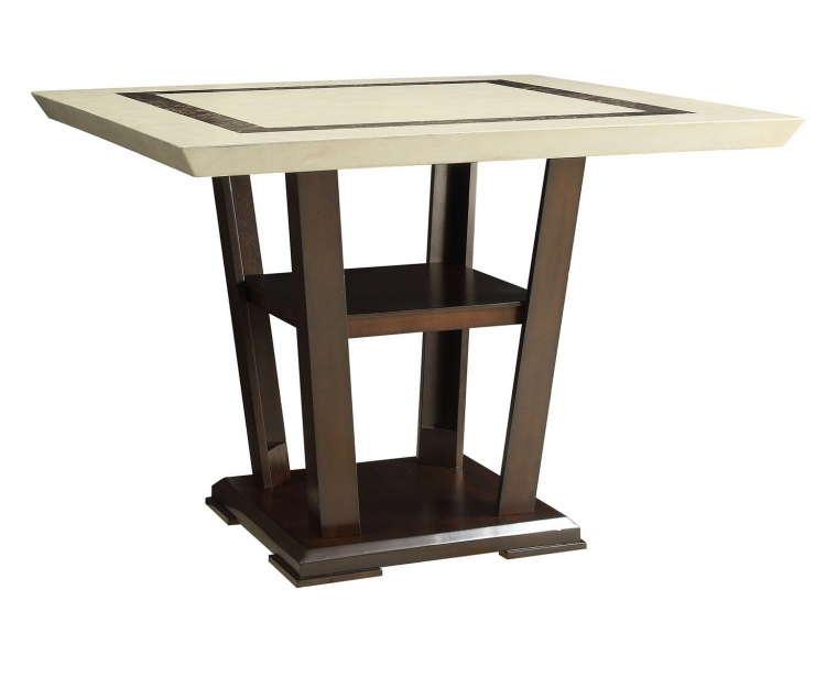 Lacombe Counter Height Table - Cappuccino