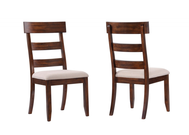 Montague Side Chair - Rustic Brown