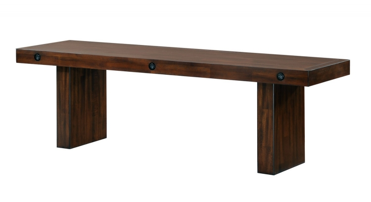 Montague Bench - Rustic Brown