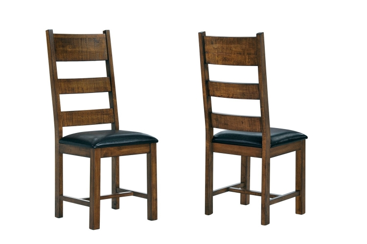 Murillo Side Chair - Rustic Honey