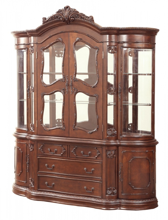 Jacques China Cabinet - Dark Cherry