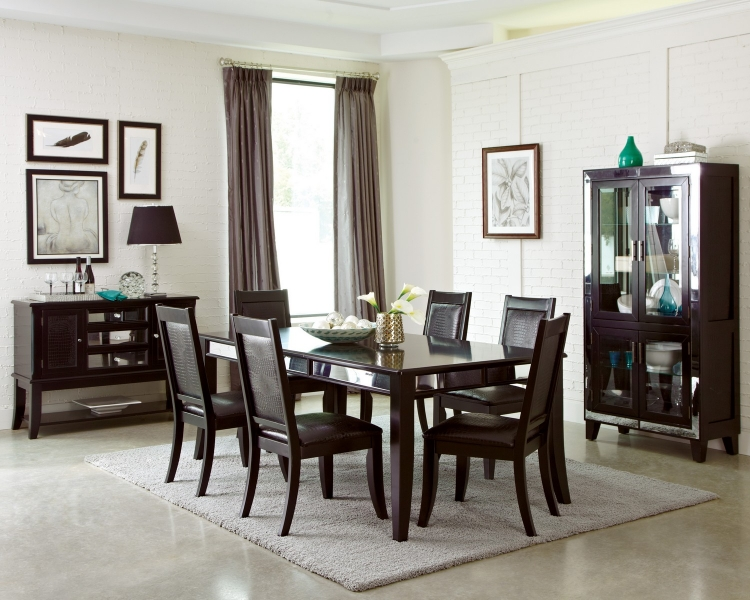 Middleton Dining Set - Cappuccino