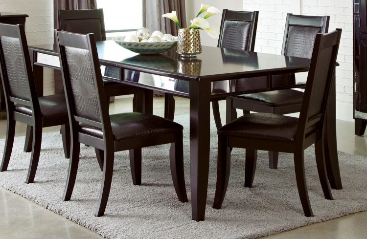 Middleton Dining Table - Cappuccino