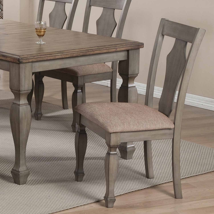 Riverbend Dining Side Chair - Wheat/Antique Grey