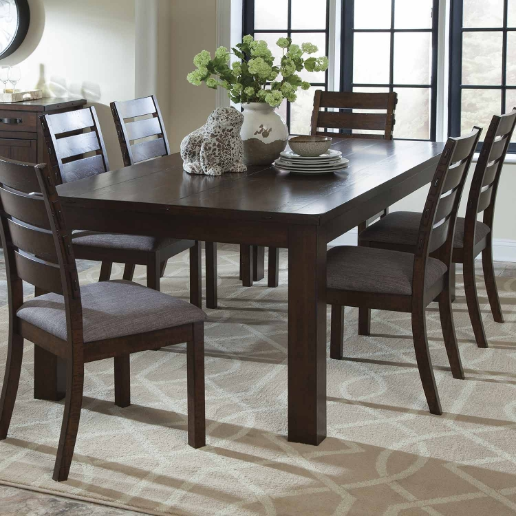 Wiltshire Dining Table - Rustic Pecan